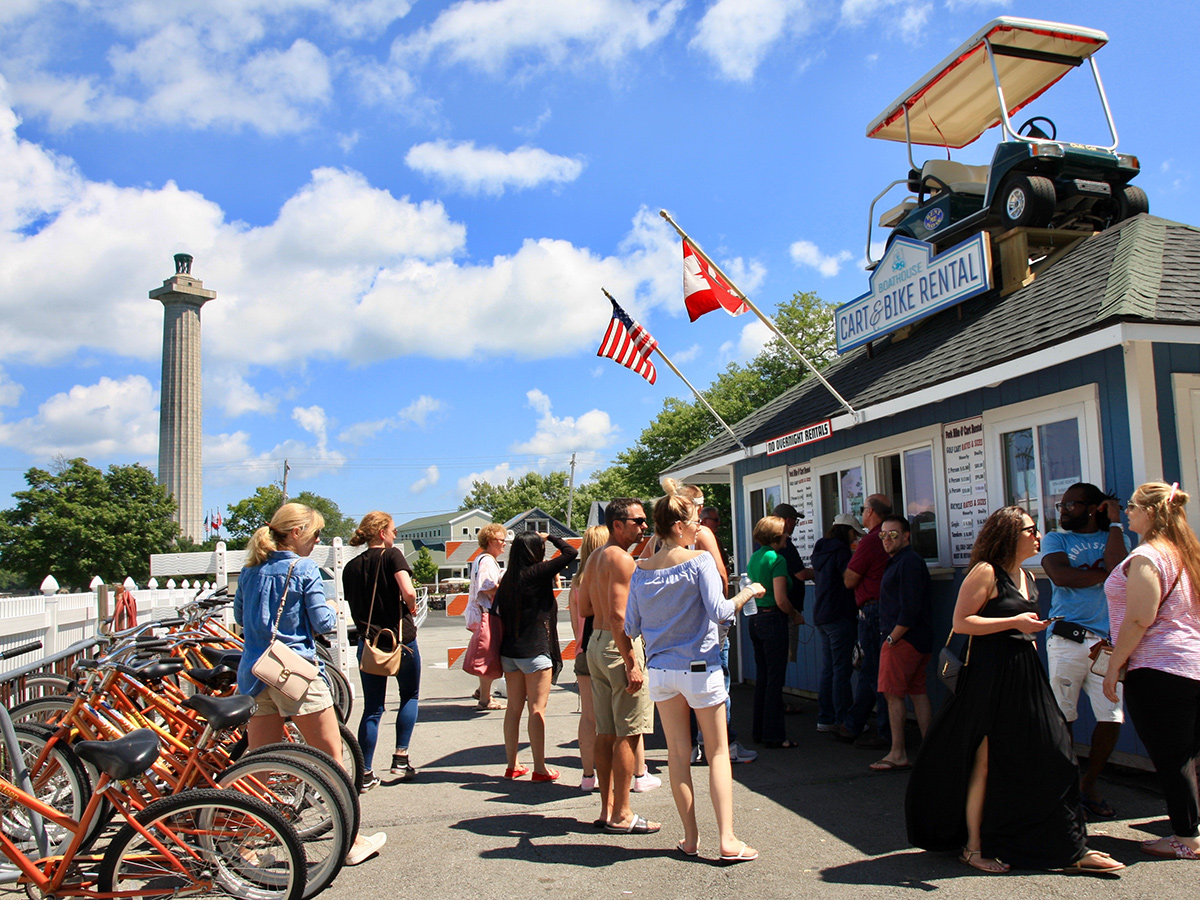 Boathouse Cart and Bike Rentals Put in Bay