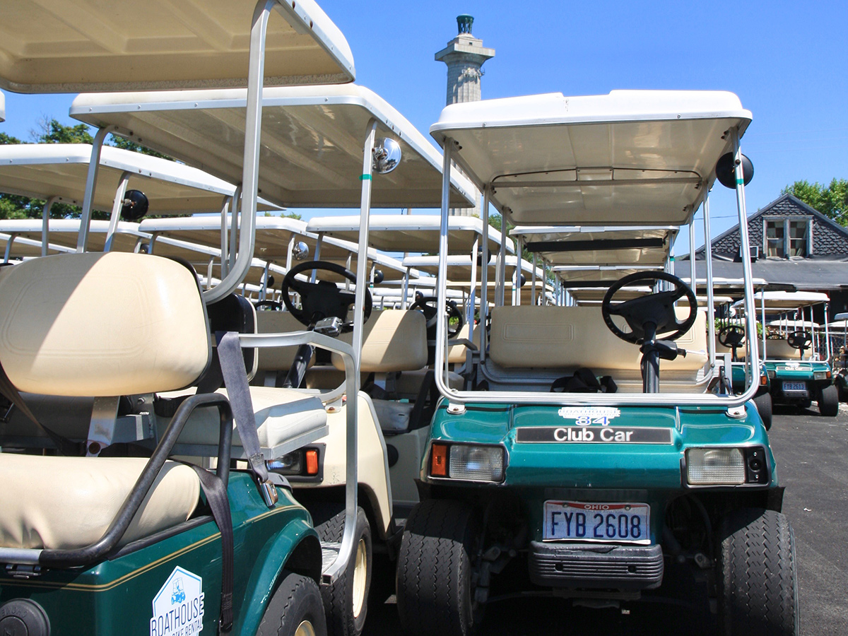 Boathouse Cart Rentals Put in Bay